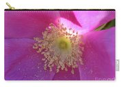 Pink Ocean Wildflower Carry-all Pouch