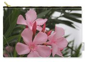 Pink Oleander 4 Carry-all Pouch