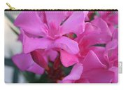 Pink Oleander Bunch Carry-all Pouch