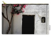 Pink Oleander By The Door Carry-all Pouch