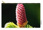Pink On Green Carry-all Pouch
