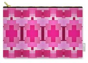 Pink On Pink Panorama 4 Carry-all Pouch