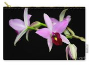 Pink Orchids Cascading Carry-all Pouch