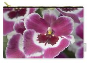 Pink Pansy Orchid Carry-all Pouch