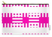 Pink Patterns Carry-all Pouch