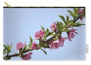 Pink Peach Blossoms Carry-all Pouch