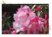 Pink Pearl Rhododendron Carry-all Pouch
