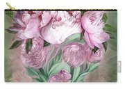 Pink Peonies In Peony Vase Carry-all Pouch