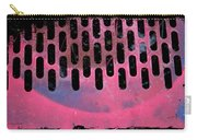 Pink Perfed Carry-all Pouch