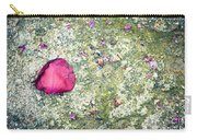 Pink Petal Carry-all Pouch by Silvia Ganora