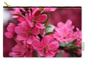 Pink Plum Blossoms Carry-all Pouch