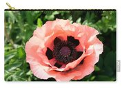 Pink Poppy Bloom Carry-all Pouch
