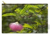 Pink Powderpuff Blossom Carry-all Pouch