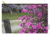 Pink Purple Mississippi Blooms Carry-all Pouch