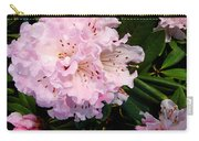 Pink Rhodies Carry-all Pouch
