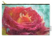 Pink Rose - Digital Paint II Carry-all Pouch