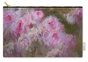 Pink Rose Abstract Carry-all Pouch