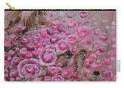 Pink Rose Birdies Carry-all Pouch