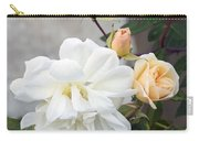 Pink Rose Buds At Carmel By The Sea Mission Carry-all Pouch