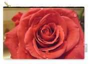 Pink Rose Drops Carry-all Pouch