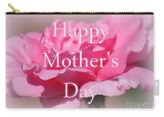 Pink Rose Mother's Day Card Carry-all Pouch