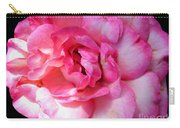 Rose With Touch Of Pink Carry-all Pouch