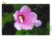 Pink Rose Of Sharon 2 Carry-all Pouch