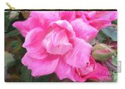 Pink Rose Painting  Carry-all Pouch