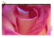 Pink Rose Pedals Carry-all Pouch