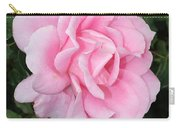 Pink Rose Square Carry-all Pouch