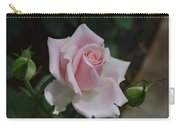 Pink Rosebud Carry-all Pouch