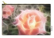 Pink Roses Digital Artwork Carry-all Pouch