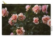 Flowers - Pink Roses Carry-all Pouch