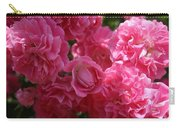 Pink Roses In Sunlight Carry-all Pouch