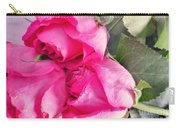 Pink Roses Carry-all Pouch