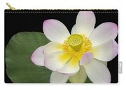 Pink Sacred Lotus Flower Carry-all Pouch