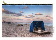 Pink Sands Carry-all Pouch by Debra and Dave Vanderlaan