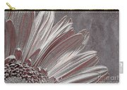 Pink Silver Carry-all Pouch