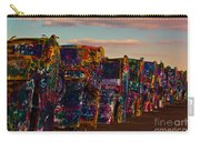 Pink Sky At Cadillac Ranch Carry-all Pouch