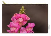 Pink Snapdragon Carry-all Pouch