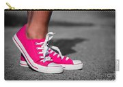 Pink Sneakers  Carry-all Pouch