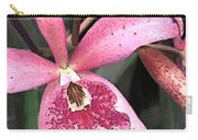 Pink Spotted Cattleya Orchids Carry-all Pouch