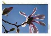 Pink Spring - Blue Sky And Magnolia Blossoms Carry-all Pouch