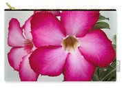 Pink Star Flower Carry-all Pouch