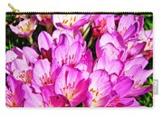Pink Summer Blossoms Carry-all Pouch
