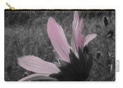 Pink Sunflower Carry-all Pouch