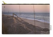 Pink Sunrise On The Beach Carry-all Pouch