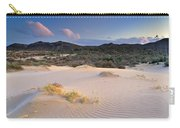 Pink Sunset At The Desert Carry-all Pouch