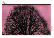 Pink Sunset Tree Carry-all Pouch