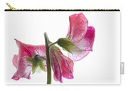 Pink Sweet Pea Carry-all Pouch